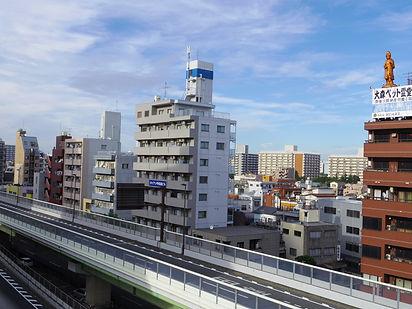 東京都大田区の街並み