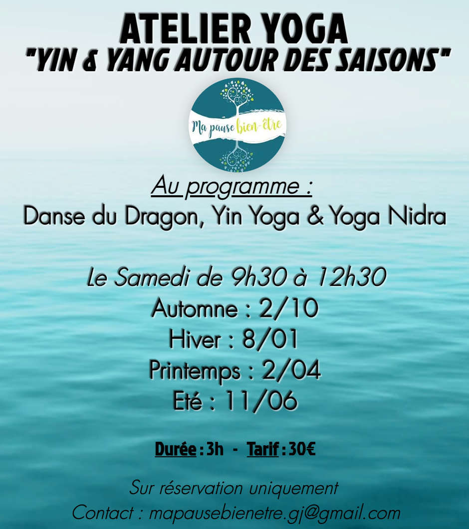 Présentiel - Atelier Yoga Yin&Yang