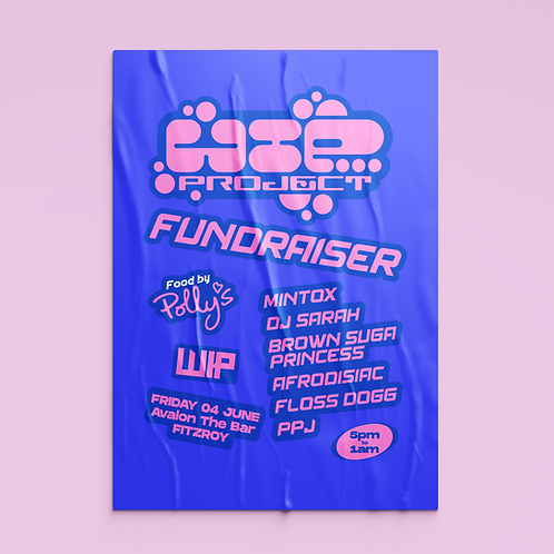 WIP Project Fundraiser Ticket