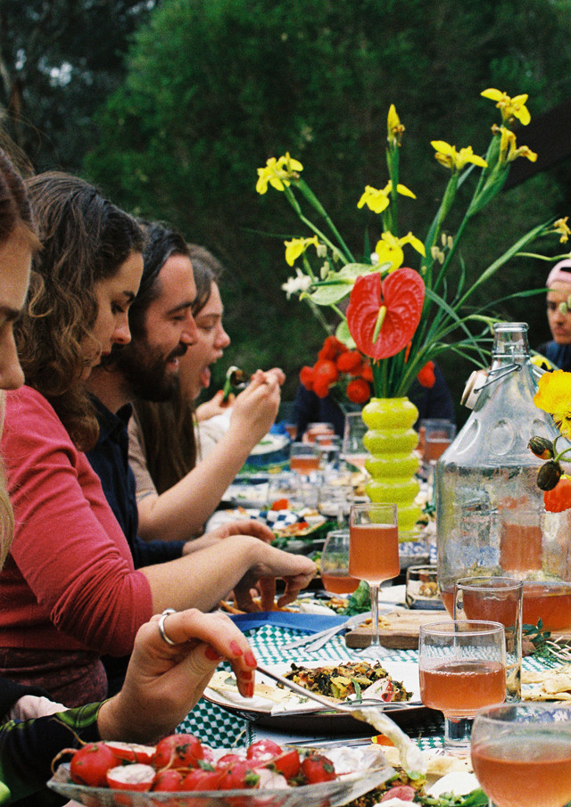 Spring Long Lunch with Pete and Mashara