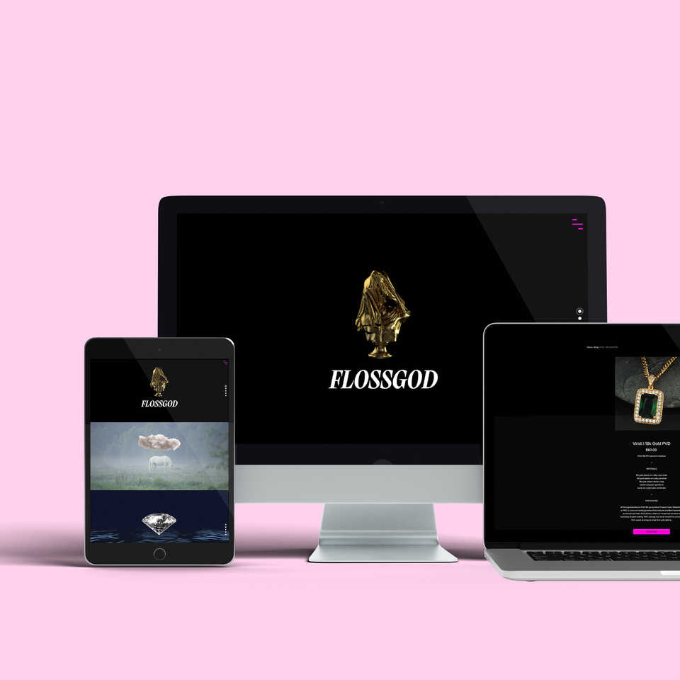 Flossgod Jewelry Online Store