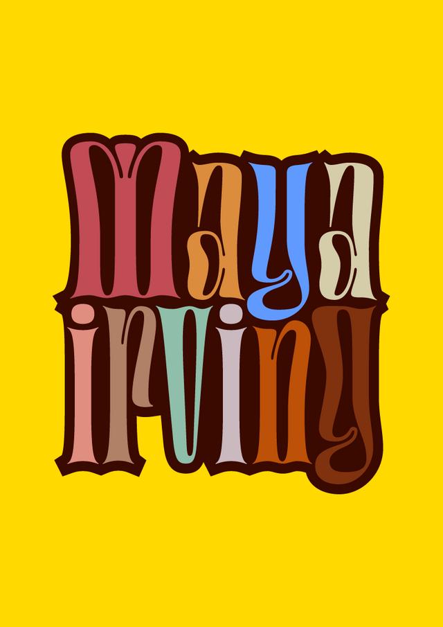 Maya Irving Logo Design