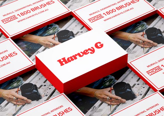 HarveyG Branding