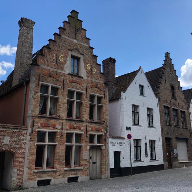 Medieval Buildings in Bruges