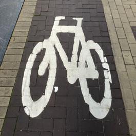 bicycle symbol for bike lane