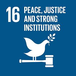 SDG #16 Peace, Justice