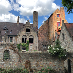 Medieval Buildings in Bruges