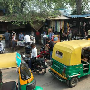 motorized rickshaw