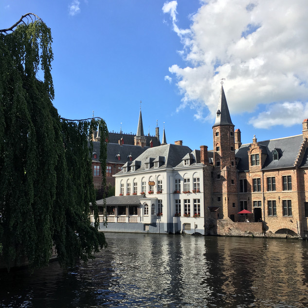 Buildings in Bruges