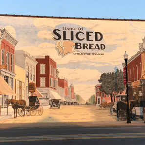 Home of Sliced Bread Mural
