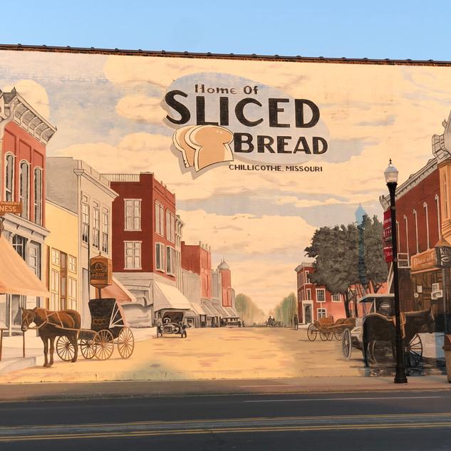 Home of Sliced Bread Mural