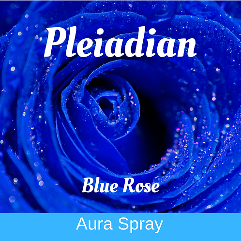 Pleiadian Blue Rose - Aura Spray