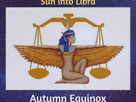 Sun into Libra – Autumn Equinox The Descent of Inanna – the Scales of Ma'at