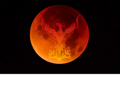 Full Moon in Aquarius Blood Moon Lunar Eclipse 27 July - Rise, Phoenix, Rise