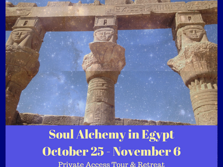 Soul Alchemy in Egypt - Sacred Tour of Egypt October 2017