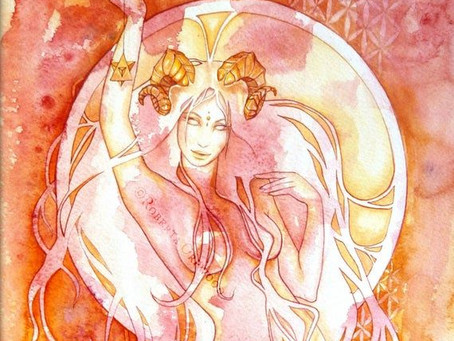 New Moon in Aries - Healing the Shadow of Chiron in Aries