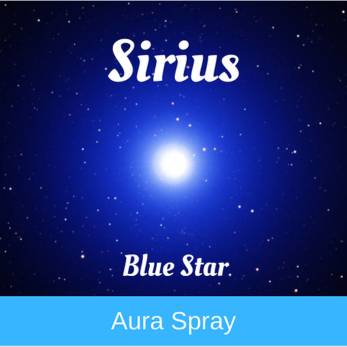 Sirius Blue Star - Aura Spray