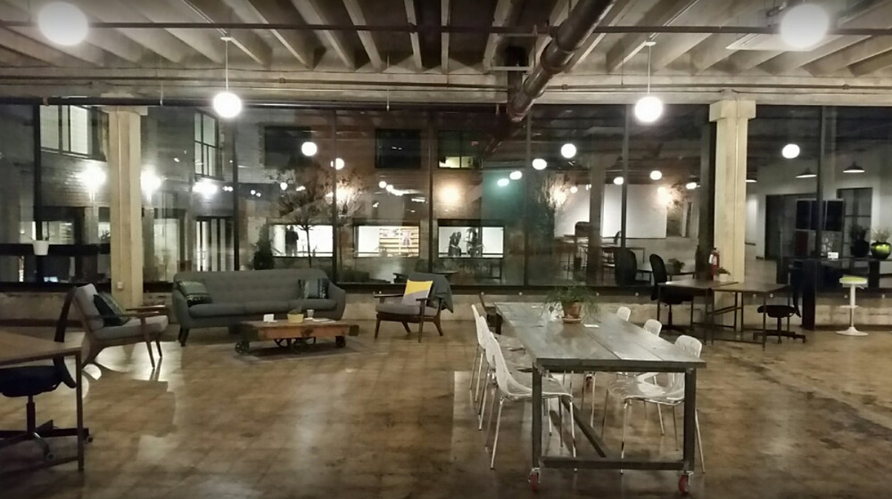 GoodWork is a co-working space near downtown Dallas