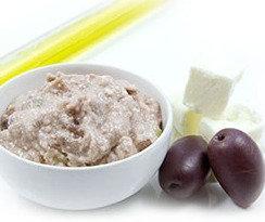 Purée de fêta aux olives de Kalamata