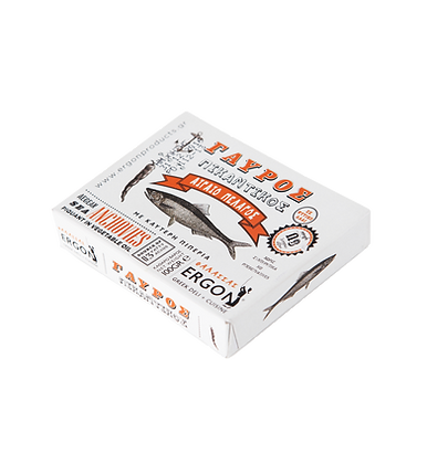 Filets d'anchois blancs piquants
