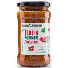 Sauce tomates et basilic