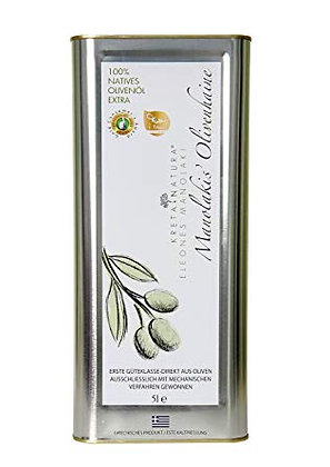Huile d'olives Manolakis 5 litres