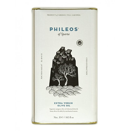 Huile d'olive Phileos 3 litres