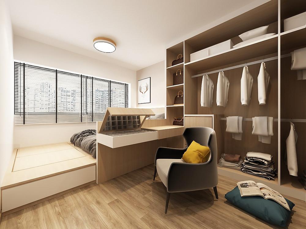3 Room 4 Room Bto Interior Design Singapore Yallowbox