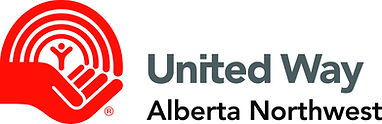 United Way Alberta Northwest Logo Horizo