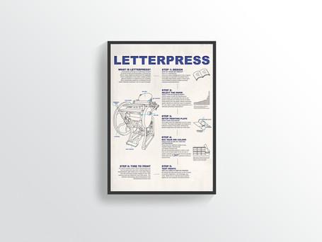 Letterpress Infographic