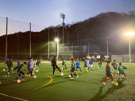 【ジュニアユース】小6対象 1月の体験練習会