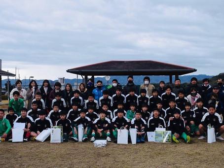【ジュニアユース卒団式!】