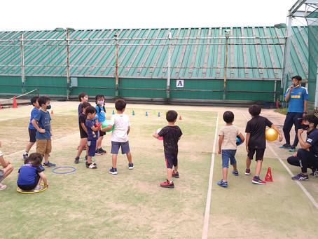 【8月のボールゲーム教室 日程】