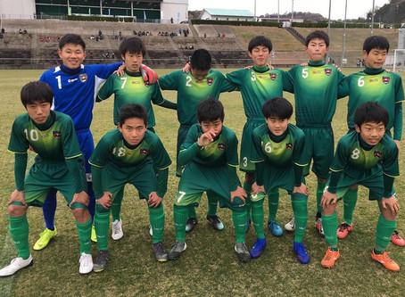 ジュニアユース〜高円宮杯U-15リーグ和歌山1部第2節の結果