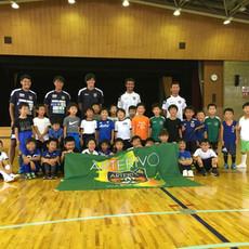 和歌山県立体育館 夏休みサッカー&バルシューレ教室 B日程 開催しました