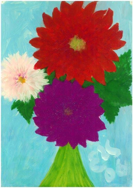 #2.91 Flower Portrait