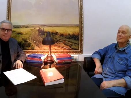"Interview with Eugene Tsvetkov for the ""Otechestvennye Zapiski"" magazine. Global warming."