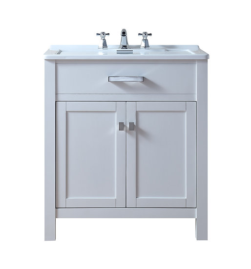 "Radiant 30"" Laundry Sink Cabinet"
