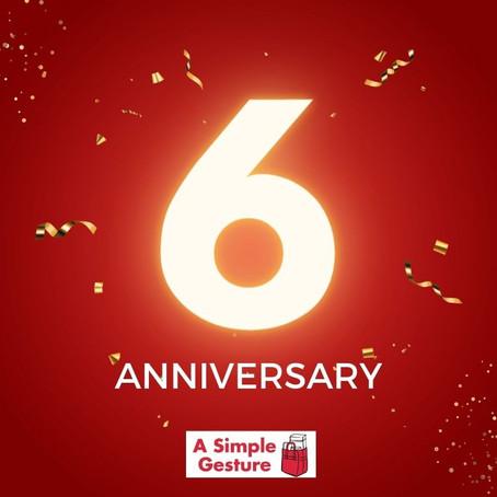 Celebrating 6 Years!