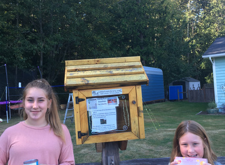 Family Transforms Their Lending Library to Food Donation Site