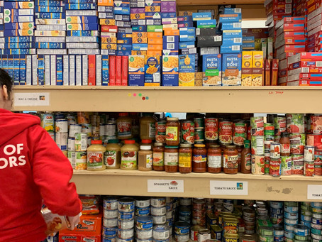 Which food items are generally most needed?