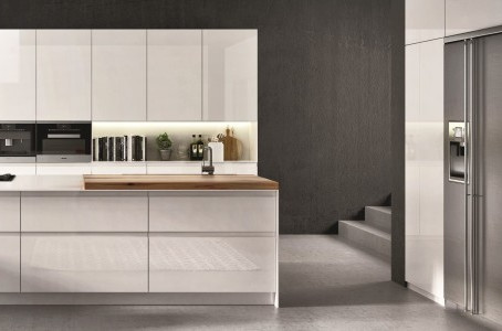 Minimalist Kitchen: the Simplicity of the Lucca Style