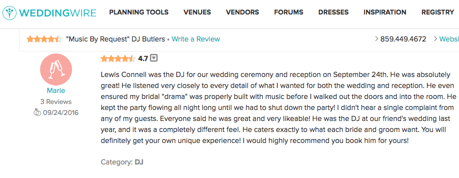 LEWIS CONNELL | Dj Butlers | United States