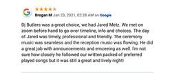 Jared Metz review