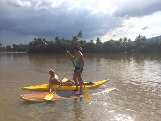 SUP Kampot and kayak.JPG