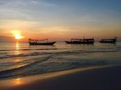 Koh Rong, Cambodia at sunset.JPG