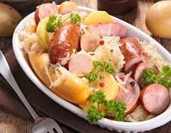 plat choucroute