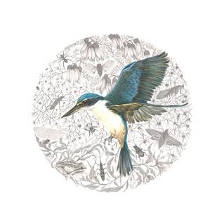 Kingfisher Mandala