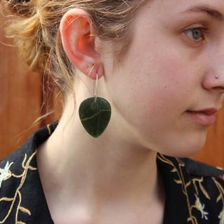Earrings, NZ Tangiwai