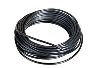 Roll of black (Minus) electrical wire fo
